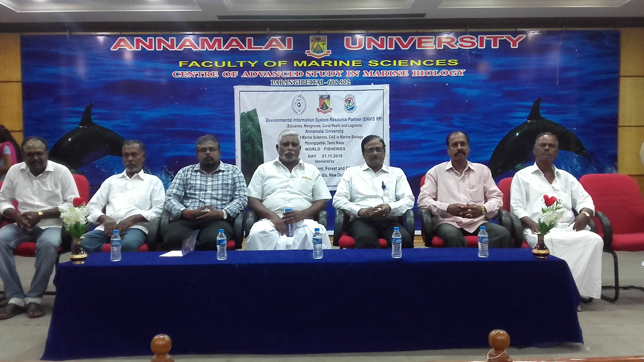 Dignitaries for the World Fisheries Day