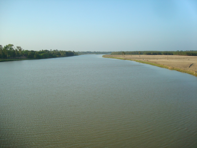 A view of Paravanar estuary, Cuddalore, Tamil Nadu.