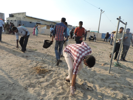 Coastal cleanup day -cleanliness campaign (14)