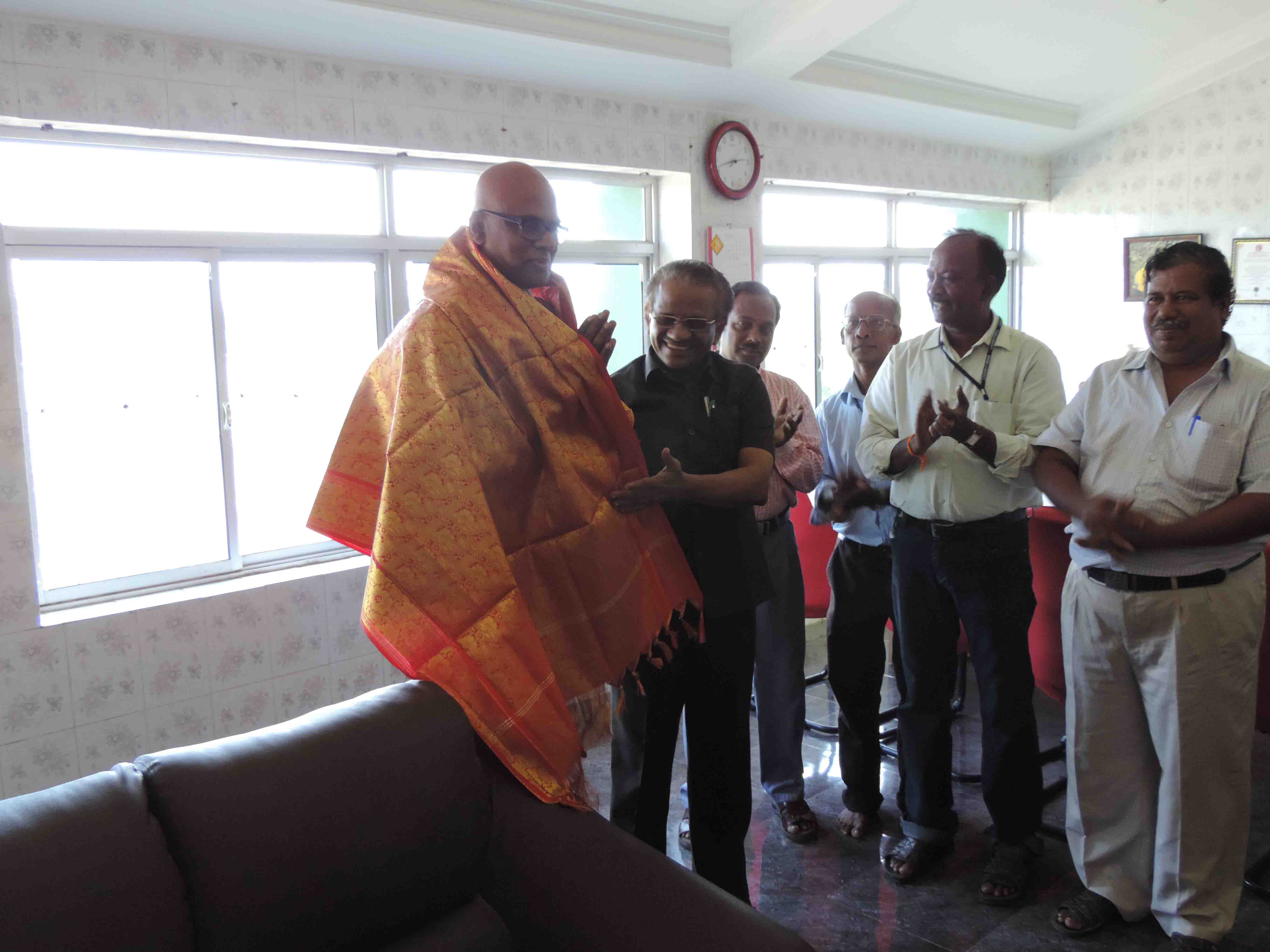 Shri. M. Kannan, Economic Advisor visit