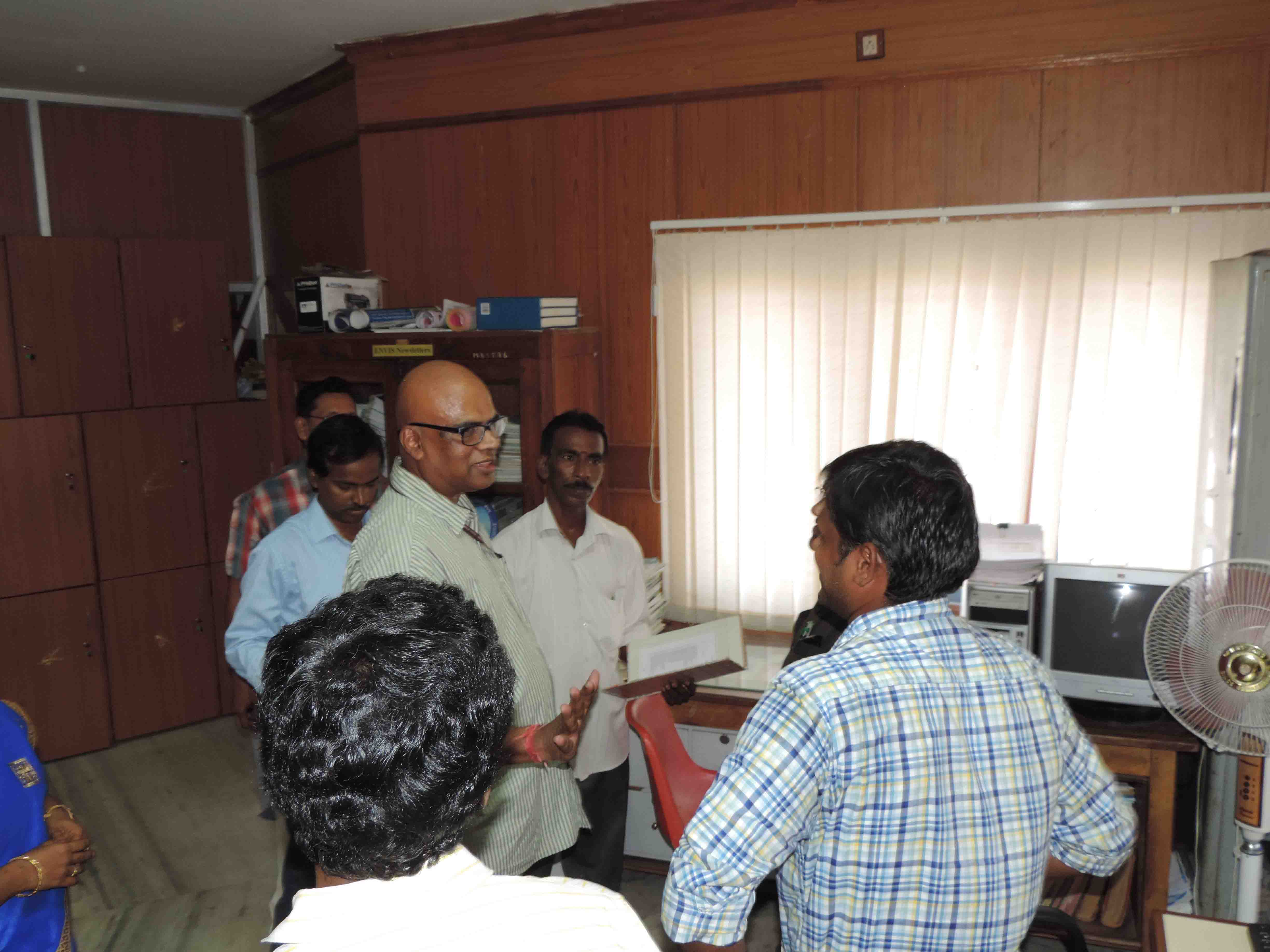 Shri. M. Kannan, Economic Advisor - Visit